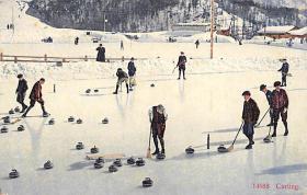 spo009A031 - Wehrli A.G. Kilchberg, Zurich Switzerland Curling Postcard