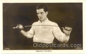 spo011008 - Romon Novarro, Fencing Postcard Postcards