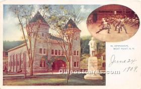 spo011026 - Old Vintage Fencing Postcard Post Card