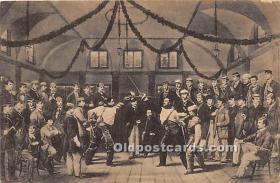 spo011033 - Old Vintage Fencing Postcard Post Card