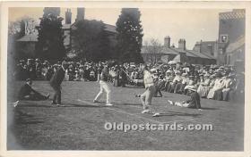 spo011043 - Old Vintage Fencing Postcard Post Card