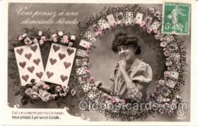 spo012050 - Gambling Postcard Postcards