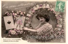 spo012051 - Gambling Postcard Postcards