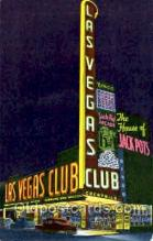 spo012186 - Las Vegas Club Casino Postcard Postcards