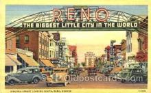 spo012238 - Virginia Street, Reno Nevada Gambling postcard postcards