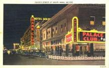 spo012240 - Center Street, Bank Club, Palace Club, Reno Nevada USA Gambling, Cards Postcard Postcards