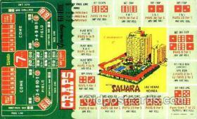 spo012242 - Sahara Hotel Las Vegas, Nevada USA Gambling, Cards Postcard Postcards