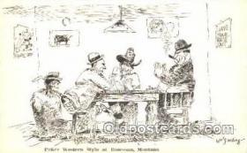 spo012296 - Gambling, Cards Postcard Postcards
