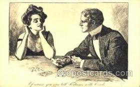 spo012299 - Artist Gibson, Gambling Postcard Postcards