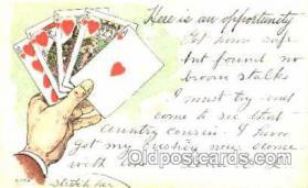 spo012300 - Gambling Postcard Postcards