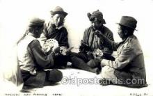 spo012302 - Rickshaw Men Playing Cards Gambling Postcard Postcards