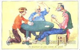 spo012304 - Gambling Postcard Postcards