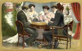 spo012310 - Gambling Postcard Postcards
