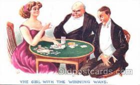 spo012318 - Gambling Postcard Postcards