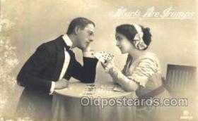 spo012327 - Gambling Postcard Postcards