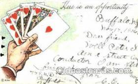 spo012328 - Gambling Postcard Postcards