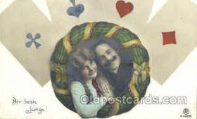 spo012334 - Gambling Postcard Postcards