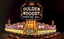 spo012335 - Golden Nugget Gambling Postcard Postcards