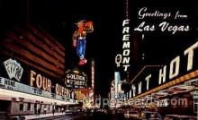 spo012339 - Golden Nugget & Fremont Las Vegas, Nevada, USA Gambling Postcard Postcards