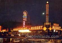 spo012342 - The Nugget Casino Gambling Postcard Postcards