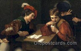 spo012345 - Der Falschspieler Gambling Postcard Postcards