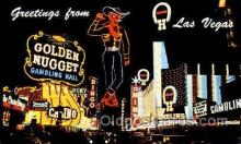 spo012350 - Golden Nugget Gambling Postcard Postcards