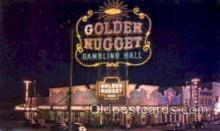 spo012354 - Golden Nugget Gambling Postcard Postcards Gambling Postcard Postcards