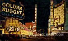 spo012355 - Golden Nugget Gambling Postcard Postcards Gambling Postcard Postcards