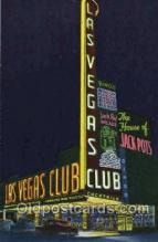 spo012398 - Las Vegas Club Gambling Postcard Postcards