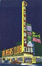 spo012408 - Las Vegas Club Gambling Postcard Postcards
