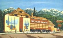 spo012430 - Nevada Lodge Gambling Postcard Postcards