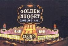 spo012434 - Golden Nugget Gambling Hall Gambling Postcard Postcards