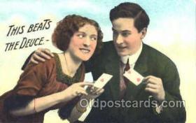 spo012438 - Gambling Postcard Postcards