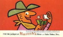 spo012464 - Harrah's  Gambling Postcard Postcards