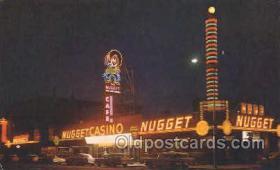 spo012465 - Nugget Café & Casino Gambling Postcard Postcards