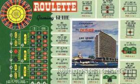 spo012476 - Dunes Hotel Gambling Postcard Postcards