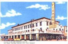 spo012481 - Pioneer Club Gambling Postcard Postcards