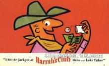spo012482 - Harrah's Club Gambling Postcard Postcards