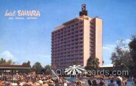 spo012488 - Hotel Sahara Gambling Postcard Postcards