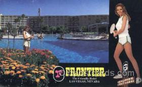spo012497 - Frontier Gambling Postcard Postcards