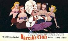 spo012500 - Harrah's Club Gambling Postcard Postcards