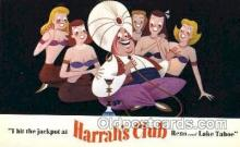 spo012501 - Harrah's Club Gambling Postcard Postcards