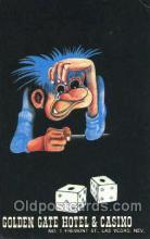 spo012513 - Golden Gate Hotel & Casino Gambling Postcard Postcards