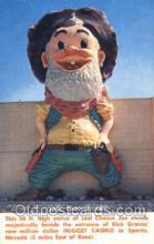 spo012514 - Statue of Last Chance Joe Gambling Postcard Postcards