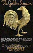 spo012516 - The Golden Rooster Gambling Postcard Postcards