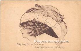 spo012524 - Old Vintage Gambling Postcard Post Card