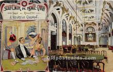 spo012526 - Old Vintage Gambling Postcard Post Card