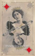 spo012529 - Old Vintage Gambling Postcard Post Card