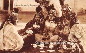 spo012532 - Old Vintage Gambling Postcard Post Card
