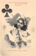 spo012533 - Old Vintage Gambling Postcard Post Card